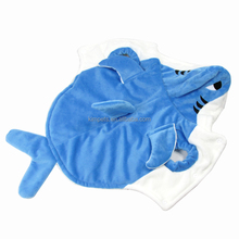 Shark coat pet product cheap dog winter coats for party dog clothes