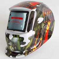 China solar powered German custom welding helmet for sale