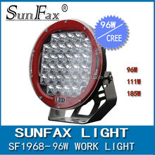 """Round ring 9"""" 96W C REE Led driving work Light , work lamp for 4wd car"""