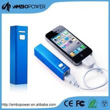 cell phone charger 2200mah aluminum