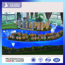 Durable ABS plastic architectural building scale model for high-rise residential project
