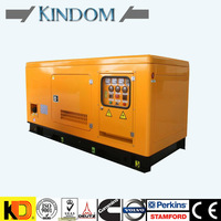 50Hz Alternator 100 kVA Silent Diesel Generators set Powered by cummins low fuel