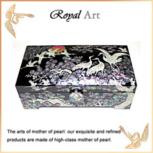 Luxury Jewelry Box with Mother of pearl inlaid; CL-100