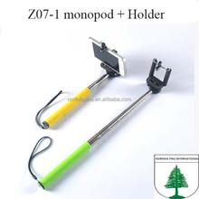 wholesale importer of chinese goods wireless mobile phone selfie stick