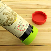 Kitchenware Best Sale Printed Dining Silicone Champagne Gift Coaster