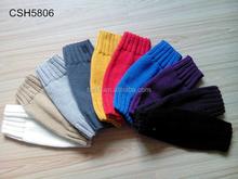 Women Solid Color Knit Leg Warmers