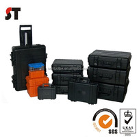 Hard plastic carrying cases with foam insert