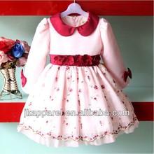 nuevo 2014 los niños ropa de niña lindo vestido de fiesta jk8804