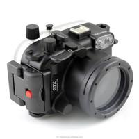 Meikon waterproof digital camera case for Canon G7X,waterproof to 40M