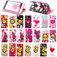 Colorful leather design pouch pocket stand wallet case for LG G3 phone cover,for Lg g3 cute case