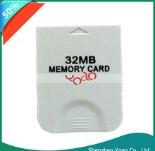 New! Memory Card 32MB For Wii