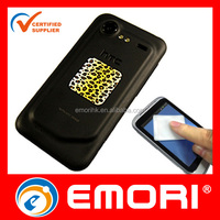 2015 hot selling reusable adhesive micro fiber cell phone cleaner