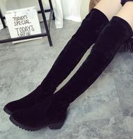 Alibaba shoes low heel ladies fashion shoes thigh sexy over the knee autumn/winter warm women very long boots