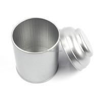 OEM glossy lamination varnish printing round metal empty can