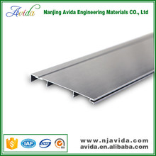 Decorative aluminum skirting board for wall