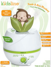 cute animal monkey Ultrasonic humidifier with CE Rohs