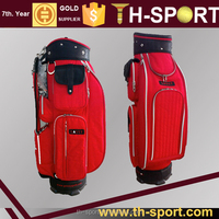 New Design Red Custom Logo Golf Tour Bag Staff Bags