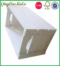 factory price top quality unfinished wooden box for vegetable and fruit,wooden fruit box
