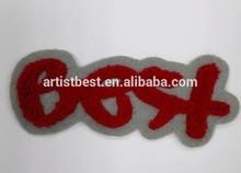 Parche bordado personalizado, bordado de insignias, parche bordado