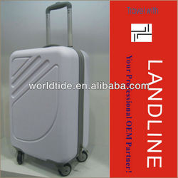 luggage grey,abs,spinner