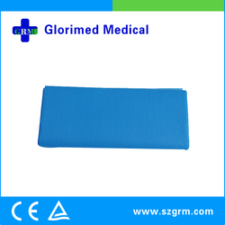 Hospital Accessories Tear Resistant Disposable PE Coated Paper Sheet With High Quality