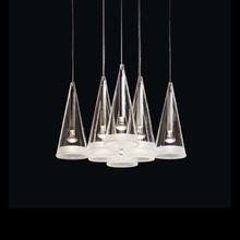 2014 Hot Sale Popular Classic Simple Creative Decorative 8 Light Suspension Modern Glass Pendant Lamp Glass Light SH01PDGL0015-8