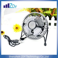 best-selling product portable mini 4 inch usb fan for computer ipad ipod