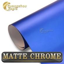 0.12 Thickness Air Bubble Free Car Color Changing Vinyl Chrome Vinyl Wrap Film