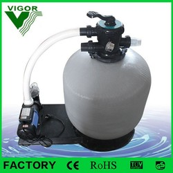 Factory supply integrative combo swimming pool sand filter machine