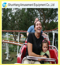 family game rides flying train