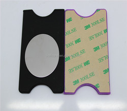3m Sticker Silicone Smart Wallet,Silicone Card Holder ,Personalized Cell Phone 3m Adhesive Card Pocket