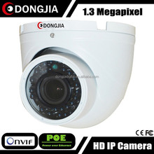 DONGJIA DJ-IPC-HD6130HDV-POE 2.8-12mm varifocal network indoor 1.3mp 960p poe ip long distance camera