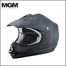 motorcycle helmet BLACK ATV helmet