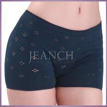 2015 Fashion Women Seamless Sexy Mesh Brief Short Boxer Panty Underwear Wholesale