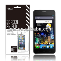 Free Sample Phone screen protector for for Alcatel one touch idol x oem/odm (Anti-Glare)