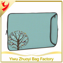 Promotional Neoprene Laptop Sleeve computer Case Bag with Print