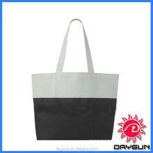 Durable cheap portable canvas reusable shopping bag