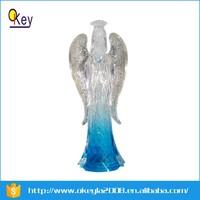 Medium Acrylic Angel with LED Light 3Asst