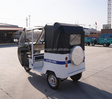 three wheel covered electric rickshaw tricycle supplier in China