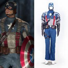 authentic captain america costume