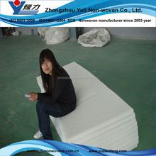 Manufacturer white polyester mattress felt