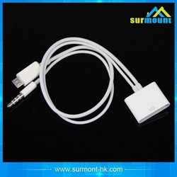 3.5mm Car AUX Audio USB Charger Cable for iPhone 4/4S iPod Nano/ Touch iPad 2/3