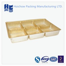 golden blister tray for chocolate