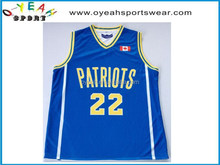 Excellent Custom School boy's basketball Jersey for team