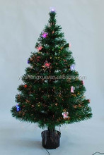 Wholesale PVC Small Fiber Optic With Led Butterfly Lighted Artificial Christmas Tree Ornament