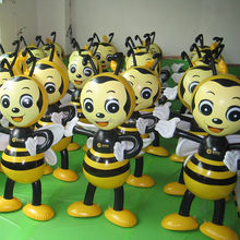 Bee standing inflatable animal toy advertising for outdoor promotion