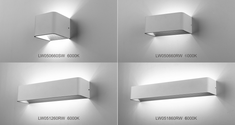 Indoor led wall mounted reaading lamp wall square long arm led wall detail knightor a2 mozeypictures Image collections