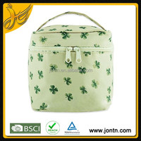 Portable Handled Cosmetic Bags Cases