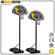 lifetime basketball ring plastic hoop pole