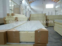 200mm thickness cold room polyurethane sandwich panel with fire rated material
